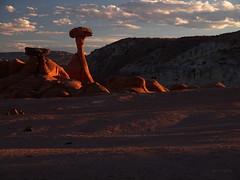Rimrock Toadstools Sunset (xjblue) Tags: sunset landscape utah olympus southernutah e5 jaredpayne