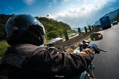 20130224_Taiwan-3 (Onni / Xijia Cao) Tags: china trip travel vacation speed spring highway day chinese taiwan sunny oldman harley journey harleydavidson motorcycle fujifilm taiwanese voigtlnder oneperson xe1 gettychinaq2