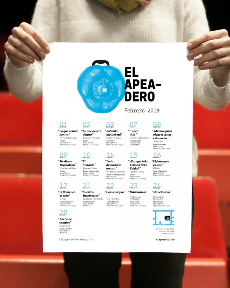 Cartel El Apeadero I