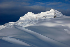Atwell Peak and Mt Garibaldi (flinner!) Tags: snow canada britishcolumbia glacier garibaldi skitracks atwell