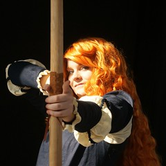 03 2013-03-15 S9 JB 57878#co (cosplay shooter) Tags: lbm2013 x201812 700x 500z cosplay anime manga comic comics roleplay rollenspiel convention 2013 tansim swantje merida