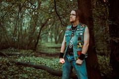 IMG_4880 (rodinaat) Tags: longhair longhairman longhairedman longhaired beard bearded metal metalhead powermetal trashmetal guitar musican guitarplayer brutal forest summer sun