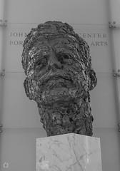 President John Fitzgerald Kennedy (Little Hand Images) Tags: johnfkennedy sculpture thekennedycenter washingtondc performingarts uspresident assassinated