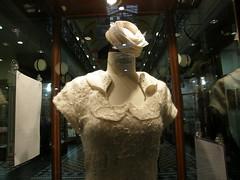 Felted dress, Adelaide Arcade, South Australia (contemplari1940) Tags: adelaide arcade felted dress frock garment
