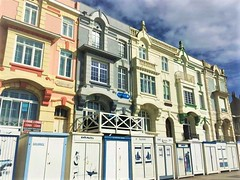France (hollyjasminebrown) Tags: houses france beautiful colour townhouse terraced beachhuts