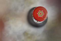 ... tres, dos, uno... / ...three, two, one... (hequebaeza) Tags: naturalezamuerta stilllife abstracto abstract tapn stopper cristal glass color rojo red estrella star nikon d5100 nikond5100 hequebaeza simple sencillo simplicity minimalista minimalistic macromondays