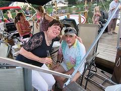 Liz and Larry at Lake Thoreau Boat Party (procktheboat) Tags: lakethoreau boatparty boatbash restonvirginia restonva