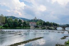 River Po (Torino) (Amren1985) Tags: torino po panasonic 12 35 panasonic1235mmf28x micro four third river italy gx7 hdr bridge water
