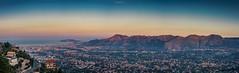 Panoramica Palermo (Palermo Finestra sul Mondo) Tags: panorama palermo conca doro sicilia sicily colori cielo colors sky colore color blu sea mare