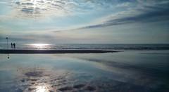Morning on the shore (Eilis88) Tags: sea reflection sky summer caorle veneto fishermen morning sun