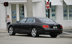 Bentley Flying Spur W12 (SPV Automotive) Tags: bentley flying spur w12 sedan exotic sports car black