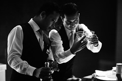 Big & Small (N A Y E E M) Tags: johnny khoka murshid bartenders moment light glass tumbler night candid portrait double baikalbar hotel radissonblu chittagong bangladesh availablelight indoors