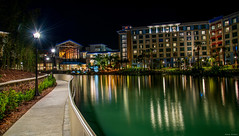 Sapphire Falls (mwjw) Tags: universal studios orlando florida nightshot longexposure mwjw markwalter sapphirefalls lowes hotel resort