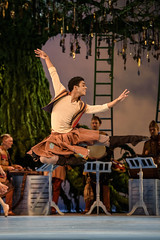Marcelino Samb as Brother Clown in The Winter's Tale  2016 ROH. Photograph by Bill Cooper (Royal Opera House Covent Garden) Tags: marcelinosamb production productionphoto theroyalballet thewinterstale actionshot bychristopherwheeldon