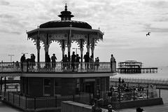 2016-08-14: Pier Backing (psyxjaw) Tags: brighton swing dance swingdancing dancing weekend jumpingattheseaside jumping seaside jats bandstand band stand beach
