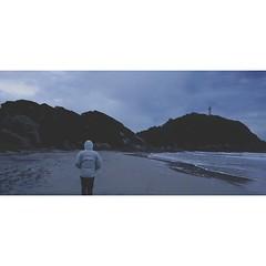 Walk (Mizael Ribeiro) Tags: beach mountain sand cold water walk chill instagram