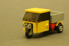 Rickshaw (Dryvvall) Tags: rickshaw tricycle vehicle car bike