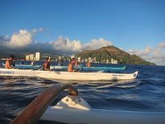 IMG_6821 (nautical2k) Tags: waikikibeachboys paddling outrigger canoe diamondhead honolulu oahu