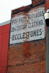 1894 ecclestones (f o t o o r a n g e) Tags: ecclestones ghostsign dayinjunewithjd stpaulstreet stcatharines ontario