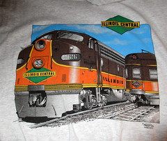 Illinois Central Tee Shirt (*hajee) Tags: 4026 illinoiscentral eunit funit emd