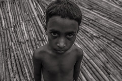 The Face (shah_jaman) Tags: portrait bw child bangladesh ruralbangladesh theface innocent jamansphotography beautifulbangladesh