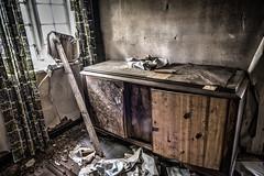 Abandoned scythe (framir2014) Tags: urbex abandonned forgotten rurex hdr farm scythe cow