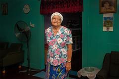 Iban_longhouse_woman (abtabt) Tags: malaysia sarawak sibu iban longhouse woman house d70028300