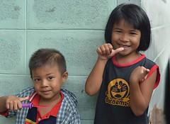 children (the foreign photographer - ) Tags: aug82015nokon two children boy girl khlong lard phrao portraits bangkhen bangkok thailand nikon d3200