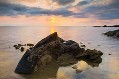 Sunset Pulau Tioman... (KM SNIPER-X) Tags: alpha sonyalpha malaysia hdr sonymalaysia sonyimage amazing nature sunrise sunset slowshutter exposure longexposure leefilter moment pulautioman pulau rock scape seascape landscape carlzeiss minolta a57 sony kmsniperx photography