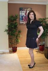 Meeting time (Joanne (Hay Llamas!)) Tags: transgender transvestite tranny tg tv brunette tgirl gurl cute uk brit british britgirl business office