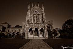 Bryn Athyn Cathedral (Dylan Straub) Tags: church cathedral pennsylvania sepia nikcolorefex
