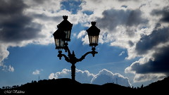 FAROS (Mel Valdivia) Tags: azul blue sky faros postes sombras atardecer ocaso white libre paz peace calma estática
