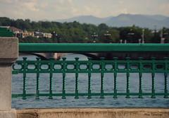 Puentes de Donosti. (Pilar Taberner) Tags: verde green ro puente donosti donostia montaas sansebastin