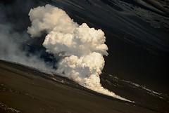 Massive steam (Vulcanian) Tags: winter volcano lava steam crater ash etna slope eruption magma vulcano cratere pyroclastic cenere vapore eruzione paroxysm valledelbove colatalavica newsoutheastcrater