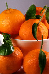 Day 347 - Bowl of clementines (Ben936) Tags: stilllife orange green leaves fruit bowl stems citrus clementine stalks