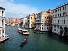 Grand Canal Venice (saxonfenken) Tags: venice8thoct2012 grandcanal venice italy gondola boat buildings gamewinner canal pregamesweepwinner herowinner bigmomma friendlychallenge storybook 81italy 81 perpetual 15challengeswinner