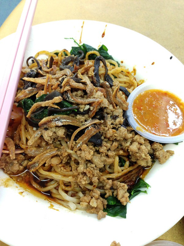 Chilli pan mee