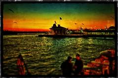 Bostanc skelesi ve Gnbatm (KadikoyBelediye) Tags: city sunset sea sun clouds turkey iskele gnbatm kadky bostanc ehir iskelesi istannbul kadkybelediyesi kadkymunicipality