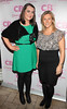 Aoife Ni Dhonnchadha and Jill O Herlihy pictured at the launch of Cocoa Brown Tan by Marissa Carter at Residence Private Members Club,Dublin..Pix: Brian McEvoy