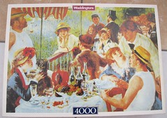 waddingtons 4000 11910 RENOIR LUNCHEON AT THE BOATING PARTY (Andrew Reynolds transport view) Tags: old painting large master jigsaw difficult renoir 4000 waddingtons