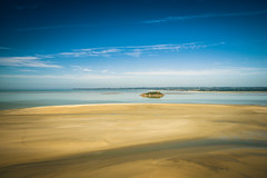 quicksand at mont st. michel (dawvon) Tags: world ocean travel sea seascape france castle nature architecture landscape ed sand nikon europe zoom snapshot wideangle unescoworldheritagesite unesco worldheritagesite mount snaps unitednations normandie stmichel nikkor normandy  f4 vr afs montstmichel montsaintmichel lenses historicalbuilding zoomlens quicksand  f4g unitednationseducationalscientificandculturalorganization 1635mm bassenormandie  fmount vibrationreduction vr2 vrii  wideanglezoom lowernormandy nanocrystalcoat afsnikkor1635mmf4gedvr 1635mmf4gvr