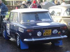 1963 Fiat 1500 (GoldScotland71) Tags: fiat glasgow rally historic carlo 1960s monte 1500 1963 2013 oku496a