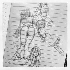 คอมโพสสาวๆวาดสนุกจริงๆนา