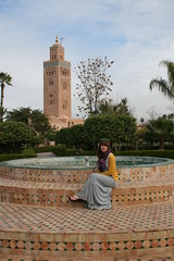 la koutoubia mosque (helen limbrick) Tags: africa travel northafrica mosque morocco marrakech marrakesh lakoutoubia