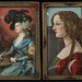 141A. Pair of Miniature Portrait Prints