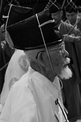 long life (mrlenours) Tags: old japan beard person tokyo glasses   matsuri japon