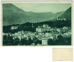 Roncegno Terme, panorama dopoguerra, 1919? (Ecomuseo Valsugana | Croxarie) Tags: 1919 cartolina baldi roncegno sittoni roncegnoterme croxarie giuseppesittoni