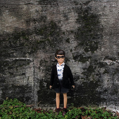(johnathan_roberts) Tags: sweater doll dolls knit knitted reproduction cardigan licca kun wataru repro liccachan