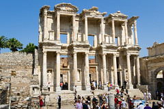 Library in Ephesus (different processing) (jpitha) Tags: day roman library sunny ephesus ancientrome