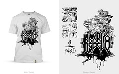 taste of the black diamond (mrzero) Tags: design very you tshirt blank much handdrawn rebel8 mrzero
